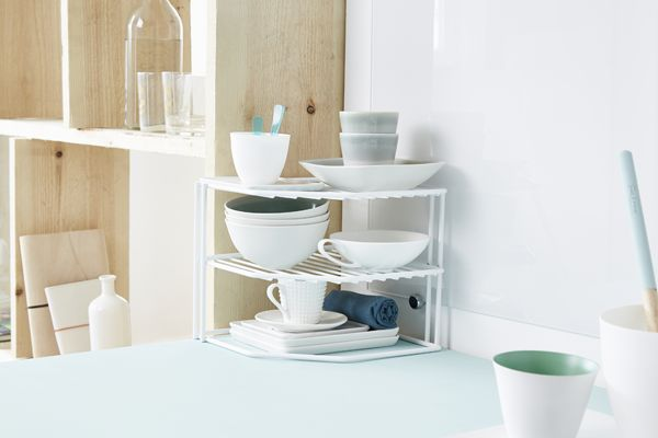 etagere d'angle vaisselle
