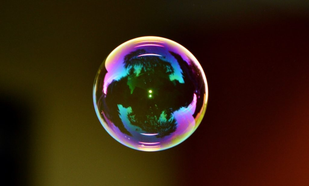 Burbuja de jabon