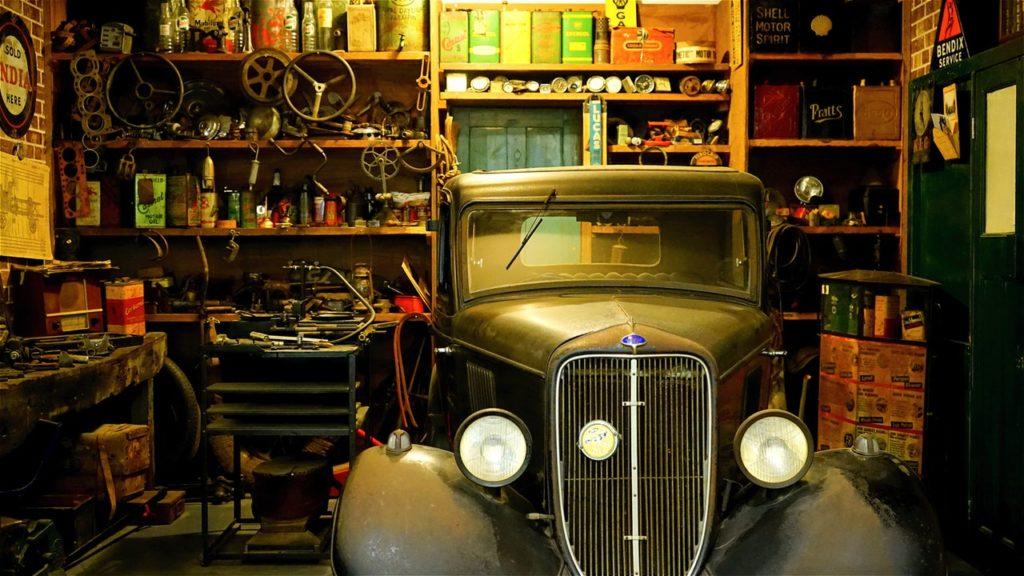 ranger un garage