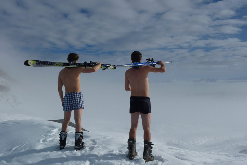 Layer up ski holiday
