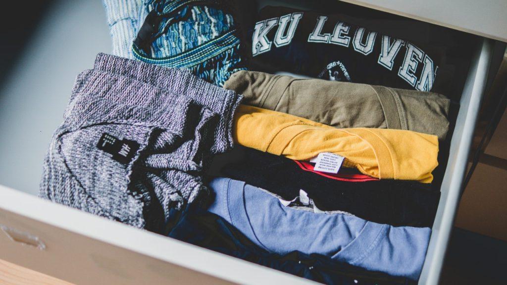 Hacer la ropa visible a la vista