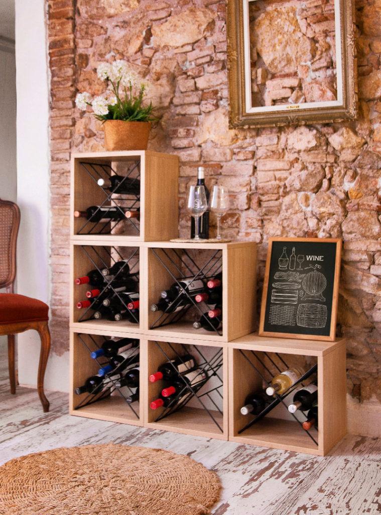 """""""Copenhagen"""" Wine Rack"""