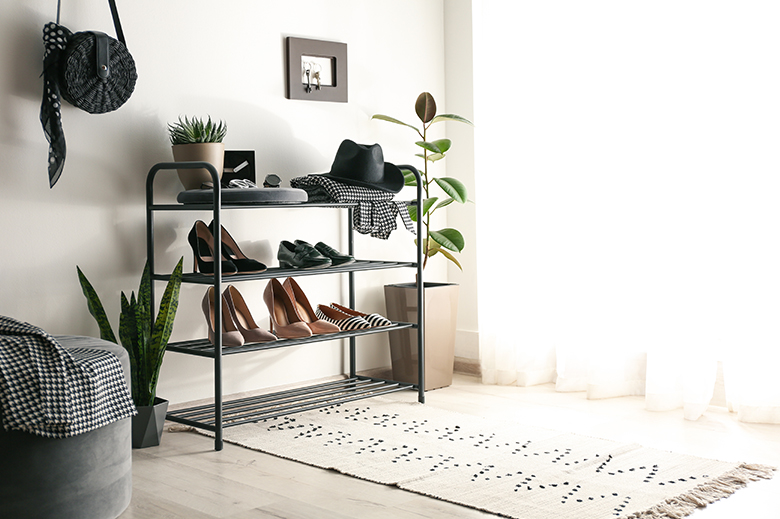 etagere range chaussures