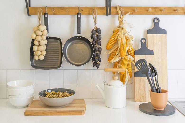 rangement ustensiles de cuisine