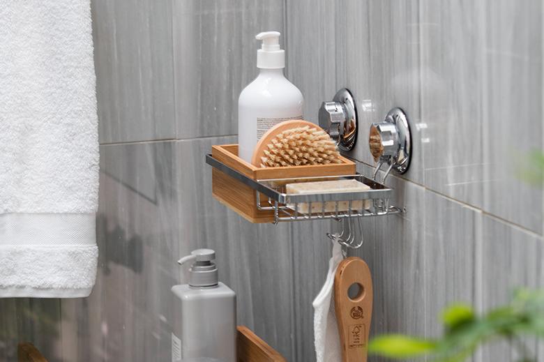 rangement douche baignoire