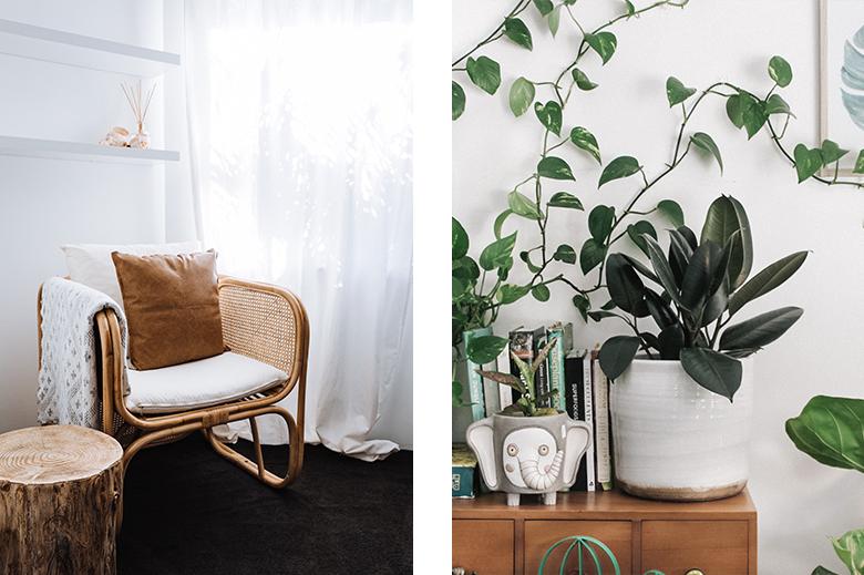 mobilier naturel