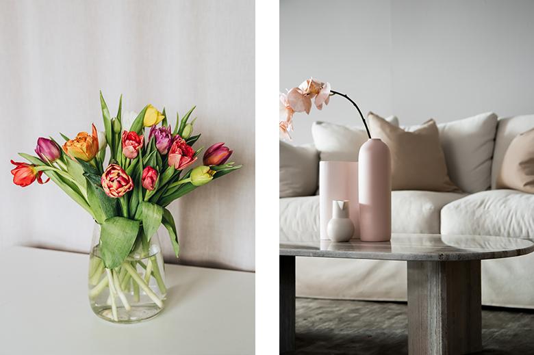 jolis bouquets de fleurs