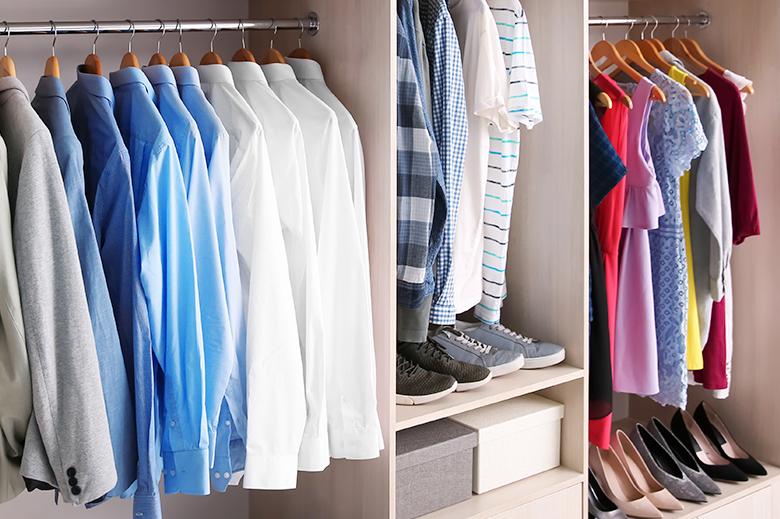 garde-robe organisee
