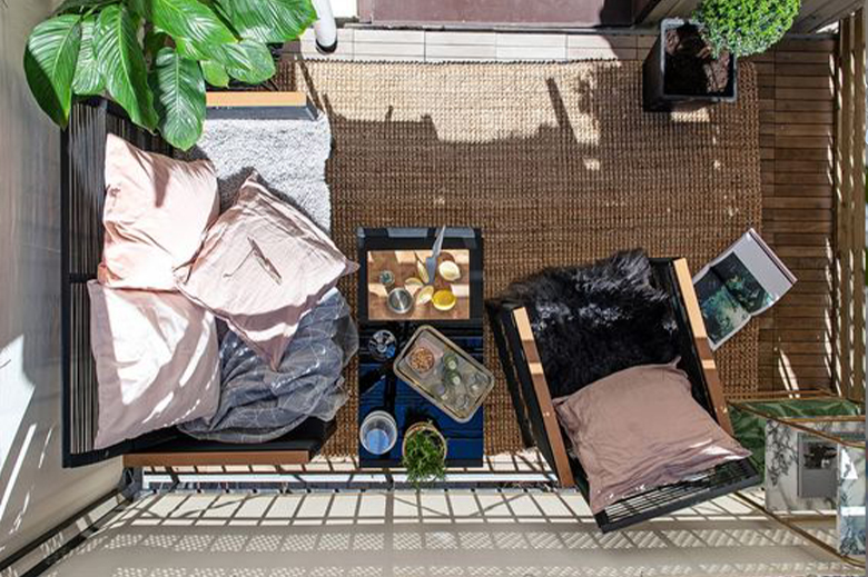 organisation balcon