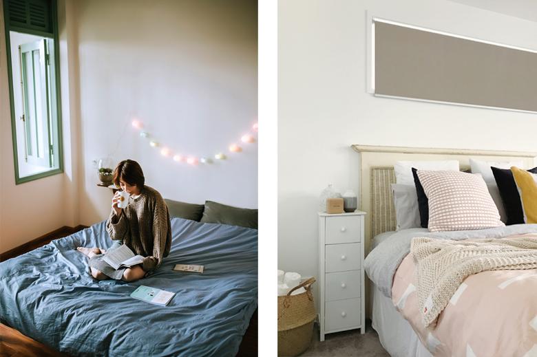 Benefici di una camera ben sistemata