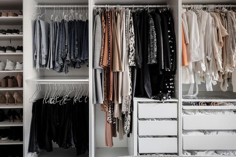 Primo passo armadio: i vestiti